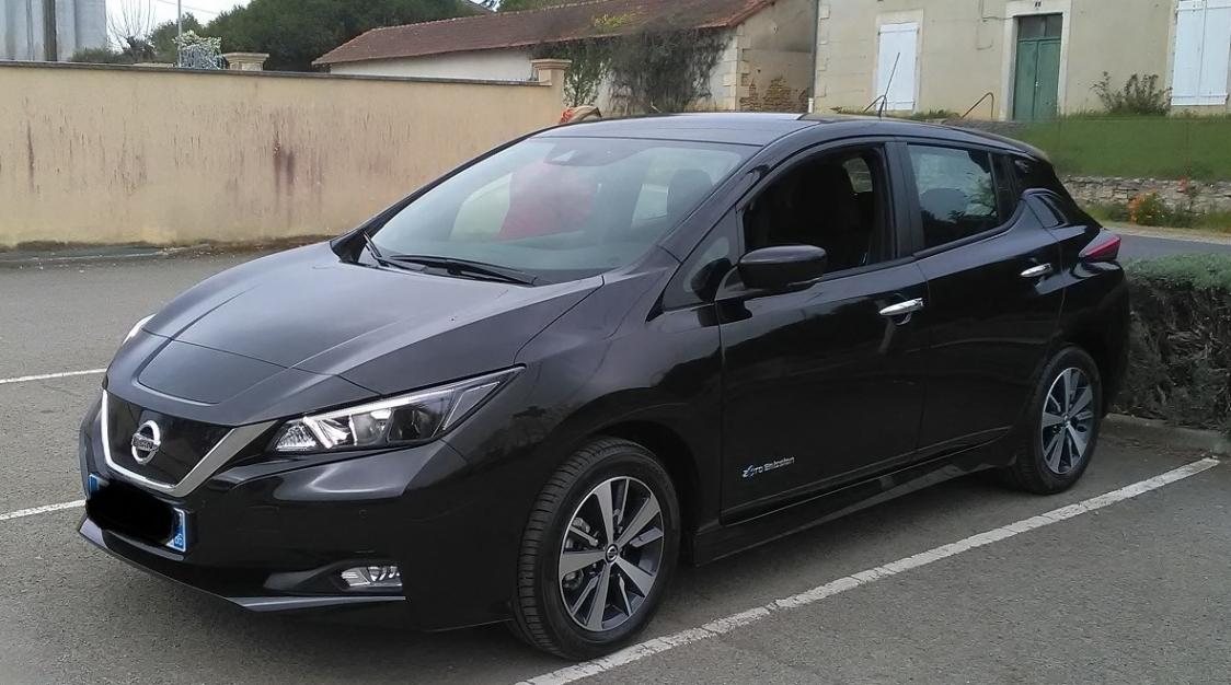 Nissan leaf 40 kWh 2019 11000 km