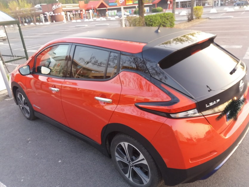 nissan leaf 2018 ,40kW ,22500 km evolutif