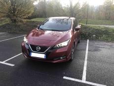 Nissan Leaf 40kW Tekna Rouge Magnétique