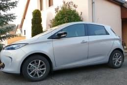 Renault ZOE Edition One charge normale R90 Gris givré 15000 km