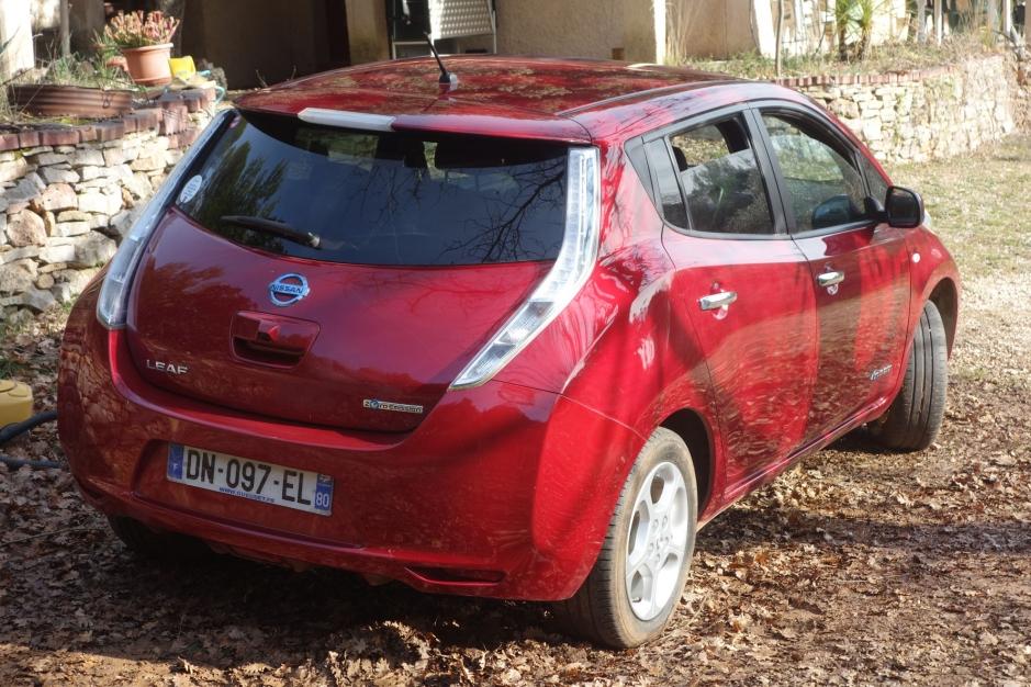 Nissan Leaf Acenta 24 kWh sans location de batterie