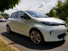 Renault ZOE ZEN 2013 BLANC NACRE (ELIGIBLE PRIME A LA CONVERSION)