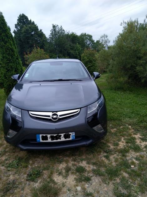 Opel Ampera Cosmo Pack gris 2012