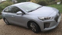 Hyundai Ioniq electrique aurora silver