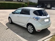 Renault Zoé Zen Q210 Blanc nacré mars 2015