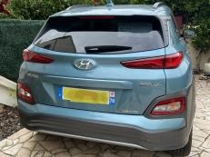 Hyundai Kona Executive 64 kWh, aout 2020, 100% électrique, 1ère main, non-fumeur, haut de gamme