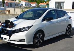 Nissan Leaf 40 tekna bi-ton 16000€ éligible bonus 1000€ en plus