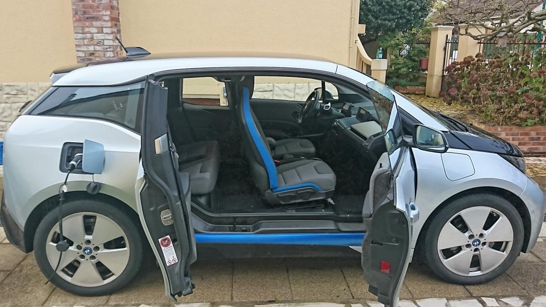 BMW i3 60ah avec prolongateur d'autonomie