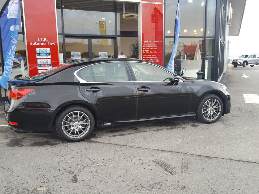 GS 450 Hybride noire mét. int. Ivoire