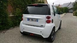Smart fortwo Electric drive Brabus, blanche