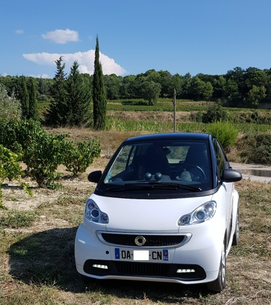 Smart fortwo Electric drive, blanche