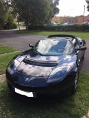 TESLA ROADSTER SIGNATURE