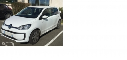 VW E-UP blanche 2017 30000kms