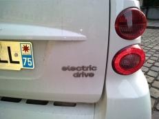 SMART FORTWO électrique en parfait état