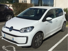 VW E-UP blanche 02/2017 30000kms