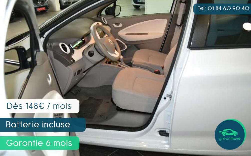 Renault ZOE Zen 8400 km dès 8990 euros (6 mois de garantie ou 7500 km) - par Greenmove