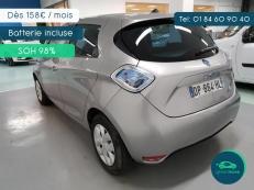 Greenmove - Zoe Life 7200 km grise charge rapide et batterie à 98% SoH