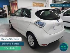 ZOE Life 13400 km  (6 mois de garantie ou 7500 km) et batterie à 97% SoH - Par Greenmove