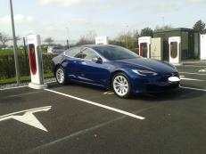 Tesla S75 AP2.0 30.200km ; prix en baisse.