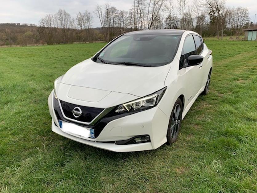 Nissan Leaf 40 kwh - modèle tekna - juin 2018