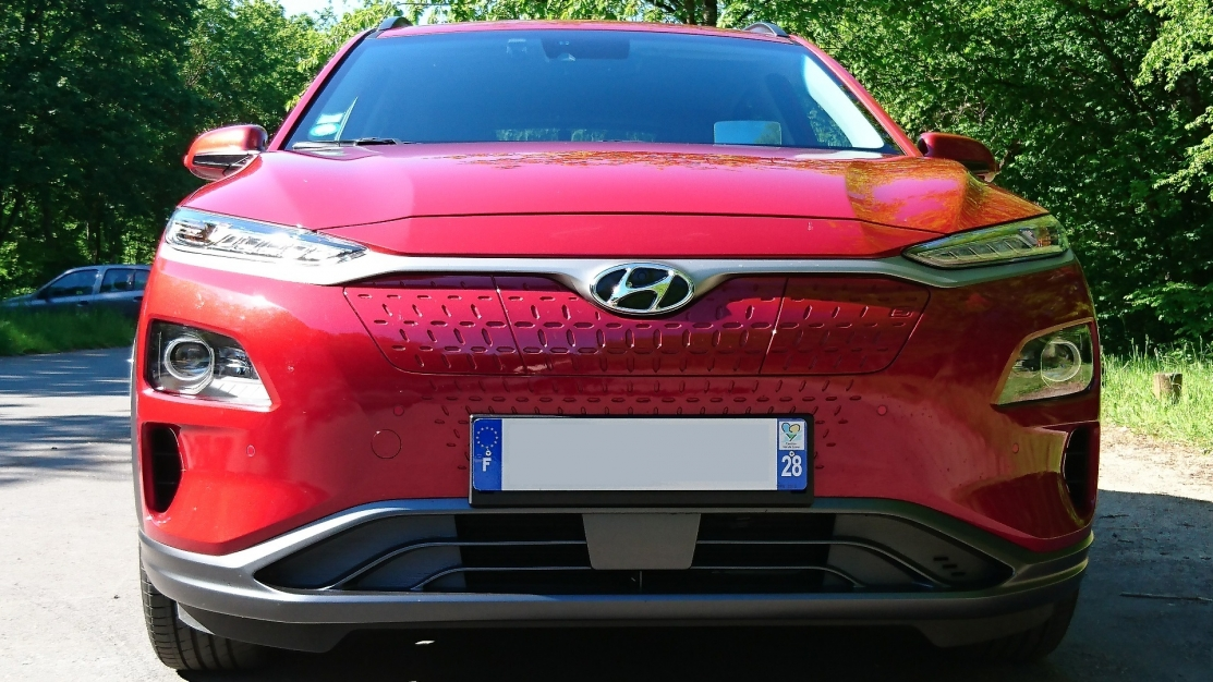 Hyundai Kona 64KWH 204CV Executive 100% Electrique Red Pulse 12/2018