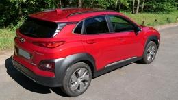Hyundai Kona 64KWH 204CV Executive 100% Electrique Red Pulse 12/2018
